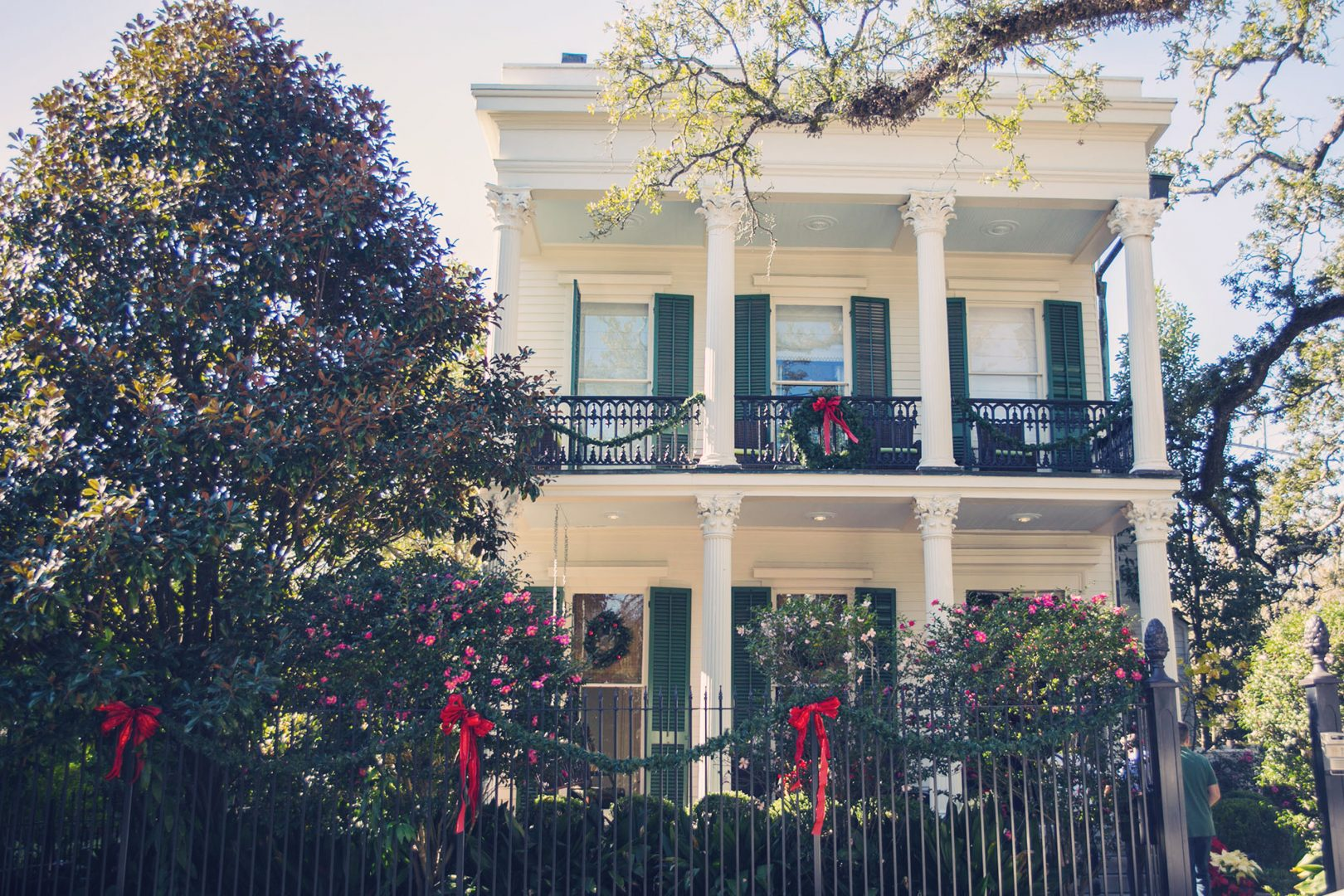 ever wondered whats inside our beautiful french quarter and garden district homes take a tour inside and enjoy festive decorations and new orleans