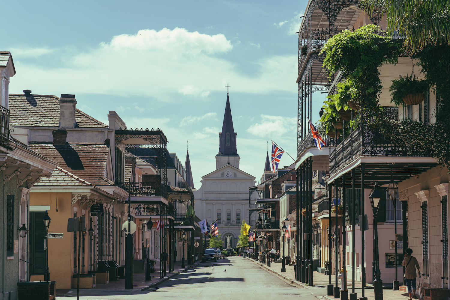 Take a tour of the French Quarter