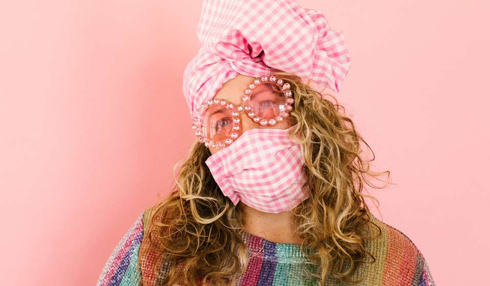 fringe + co mask