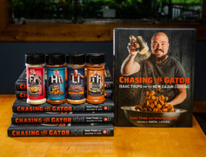 Toups Spiceology Line and Cookbook